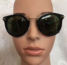 Celine Sunglasses Black With Gold Hardware New With Tags $485