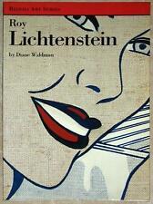 ROY LICHTENSTEIN ~ DIANE WALDMAN ~ RIZZOLI ART SERIES ~ 14 GORGEOUS ILLUS ~ SC