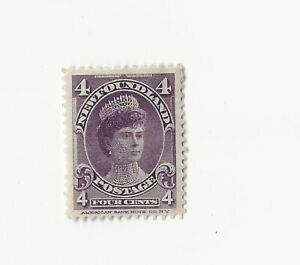 Newfoundland, 1897, SG 43