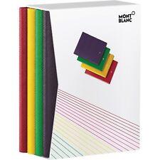MONTBLANC Fine Stationery Notebook/Notizbuch, #146, Rainbow Set, 116840, NEU&OVP