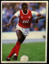 Viv Anderson Arsenal Daily Mirror 1986 Football Sticker (C211)
