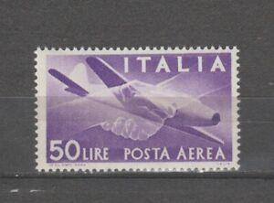 s37780 ITALIA MNH**1958 L.50 Posta Aerea