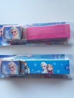 Girl Kid Children Frozen Elsa Canvas Adjustable Pants Buckle Belt Christmas Gift