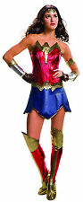 Deluxe Wonder Woman Costume Justice League Super Hero Costume Adult Size Large