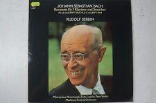 Bach Konzerte für 3 Klaviere und Streicher Rudolf Serkin Peter Serkin CBS LP7