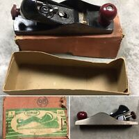 Dunlap No.3185 VINTAGE Block Wood Plane in Box Made in Germany Antique Tool