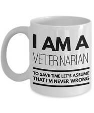 Veterinarian Mug - Funny Veterinarian Coffee Mug - Veterinarian Gifts
