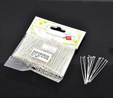 300pc 45mm well sorted bright silver finish round ball head pins -9571