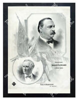 Historic Grover Cleveland for president  Advertising Postcard 2