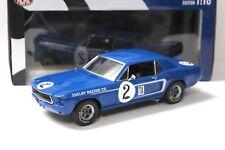 1:18 ACME Ford Dan Gurney Mustang #2 Blue 1968 Shelby New chez Premium-modelcars