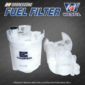 Wesfil Fuel Filter for Toyota Corolla ZZE122R Tarago ACR30R Refer Z646