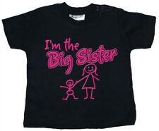 Camisetas negros para niñas de 0 a 24 meses