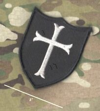 """JSOC SFG burdock-hook 3"""" PATCH: IRON Maltese Cross for AIRSOFT PAINTBALL Team ID"""