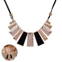 Pendant Jewelry Gift Chain Crystal Choker Chunky bib Statement Women Necklace