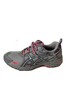 Asics Gel Enduro Trail Running Shoes Womens Size 11 Gray Pink