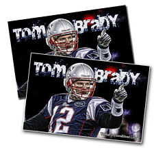 New England's Tom Brady Football Is Unconditional Love - Two 11x17 Posters
