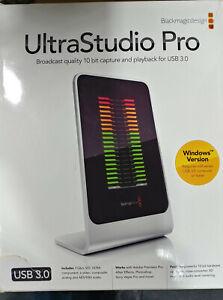 Blackmagic Design UltraStudio Pro w/ UltraScope With Cables