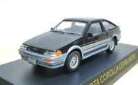 1/64 Kyosho TOYOTA COROLLA LEVIN AE86 BLACK/SILVER diecast car model