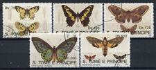 Sao Tome and Principe 1992 Mi. 1385-1389 Used 100% Butterflies