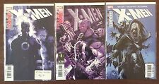 X-Men (1991 1st Series) LOT #197 198 199 RED DATA set part 1-3 VF+