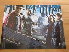 HARRY POTTER & HALF BLOOD PRINCE Original Advance British Quad poster '09