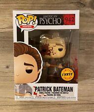 Funko Pop Movies #942 Patrick Bateman Chase American Psycho Bloody IN HAND