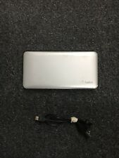 Belkin Pocket Power Compact Portable Charger / Power Bank  Silver  3717DO