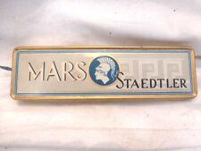 Blechdose Mars Staedtler Kopierstifte 754 mitte Reklame Werbung vintage tin case