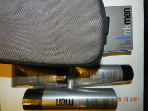 MKMen® Skin Care Face Bar, 2 cooling after-shave gel, shave foam, bag