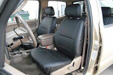 TOYOTA TACOMA 1999-2004 IGGEE S.LEATHER CUSTOM FIT SEAT COVER 13COLORS AVAILABLE