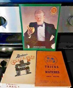 Lot of Signed Magic Books #599 Max Maven, Sam Berland, Michael Ammar, more
