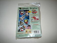 Holiday Christmas Simply Sequins Looney Tunes Ornament Kit MIP 1994 Marvin Taz +