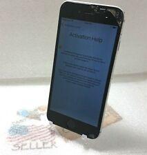 Apple iPhone 6-16GB-Gray(Verizon/GSM Unlock)Cracked Screen//LOCKED//@M012003