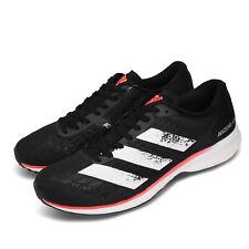 adidas Adizero Adios 5 M BOOST Black White Signal Coral Running Shoes EE4292
