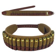 Tactical Hunting Shotgun 20GA Cartridges Belt 25 Round Shells Holder Ammo in USA