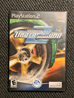 Need for Speed: Underground 2 Sony PlayStation 2 2004 PS2 CIB Tested