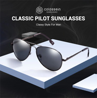 Men Women Sunglasses Polarized Brand Metal Pilot Glasses outdoor Eyewear UV400