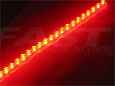 RED R8 Style LED lights for  FIAT 147 BRAVO BRAVA 500 fog TAIL STOP brake DRL