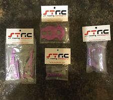 Strc Purple Aluminum Upgrades For Hpi Wheely/crawler King