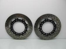 YAMAHA YZF-R1 YZF R1 2003 03 FRONT BRAKE DISCS ROTORS RIGHT AND LEFT