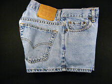 LEVIS Zipper-Fly JEANS SHORTS W 31 MEASURED High Waisted