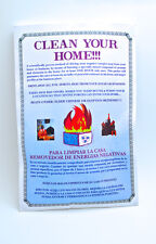 Clean Your Home of Negative Energy 1 Day Envelope Pkg By Swami Ram Charran