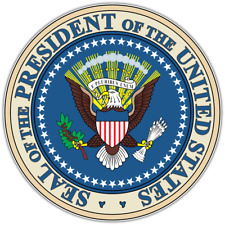 """Seal of the President United States USA Car Bumper Vinyl Sticker Decal 4.6"""""""