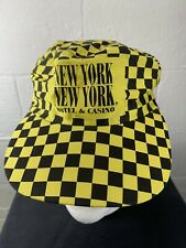 Vintage New York New York Hotel And Casino SnapBack Hat VTG 90s Cab Driver Color