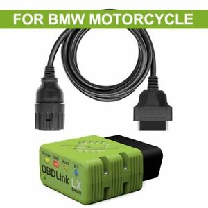 OBDLink LX Bluetooth +10PIN Scan FOR BMW Motocycle Vehicle Motoscan Bimmercode