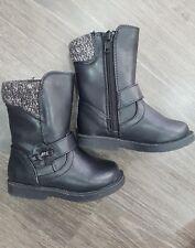 Debenhams Bluezoo girls black boots size Uk 4 EUR 20