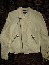 Polo Ralph Lauren $1498 Lambskin Leather Motorcycle Cafe Perfecto Jacket Medium