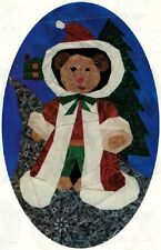 Crafts - Quilting - Christmas - Santa Bear Foundation Pieced - Pattern 0087