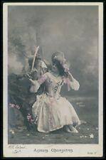b13 Gaby Deslys 1st nude striper Theater theatre Edwardian 1910s photo postcard