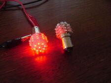 2 ampoules à led rouge pur, fonct stop, veille - P21W5W